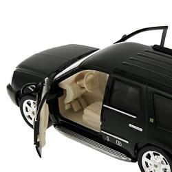Cadillac Escalade Hybrid Black 2010 Diecast Model Car