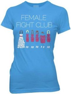 Bridesmaids   Womens Female Fight Club T Shirt In