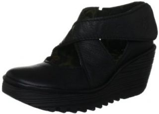 FLY London Womens Yogo Wedge Boot Shoes