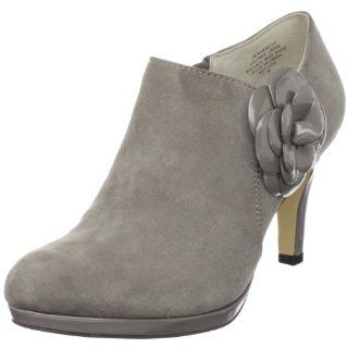 com AK Anne Klein Womens Warmuth Ankle Boot,Grey Suede,9 M US Shoes