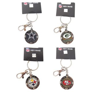 NFL Id/Key Ring Swivel Clip Photo Holder Keychain
