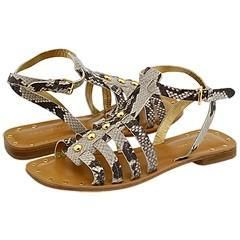 Kate Spade Bette Natural Roccia Snake Print Sandals