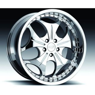 VCT Wheels 22 inch Sabatini Rims (Set of 4)