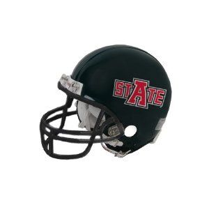 Arkansas State Riddell Replica Black Mini Helmet, Red Wolf