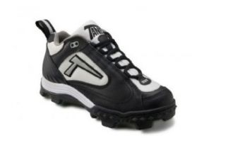 Cleat SpiderFlex Tech. Black, White & Silver. REVD_Low_BWS Shoes