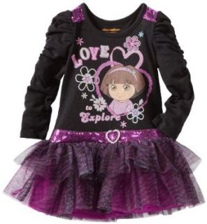 Dora The Explorer Girls 2 6X 2 Piece Love To Explore Dress