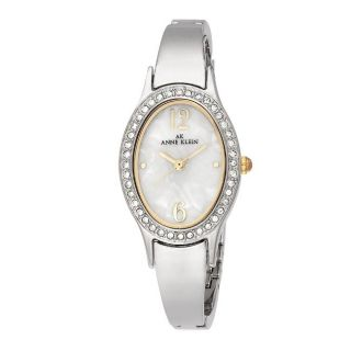 Anne Klein Womens 10 8757WTTT Two tone Dress Watch