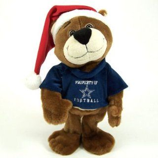 DALLAS COWBOYS DANCING CHRISTMAS TEDDY BEAR TOY Sports