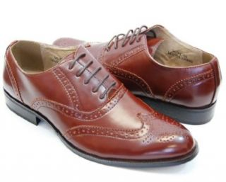 Majestic Mens Shoes . Fashionable Brown Dress Shoes . Oxford Shoes