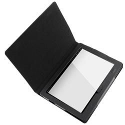 Black Leather Case/ Screen Protector for Sony Tablet S