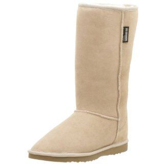 Kangaroo Classic Tall Sheepskin Boot,Sand,9 Men/10 Women Shoes