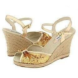 Steve Madden Cairfree Gold Multi Sandals