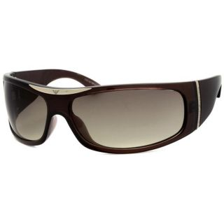 Emporio Armani Womens Wrap Sunglasses