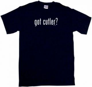 got cutler? Mens Tee Shirt in 12 colors Small thru 6XL