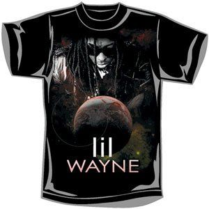 Rockabilia Lil Wayne Universal T shirt Small Clothing