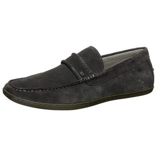 Steve Madden Mens Feenom Grey Sip on Shoes