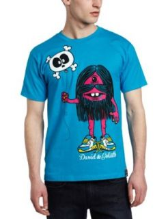 David & Goliath Mens Balloonatic Tee, Turquoise, Medium