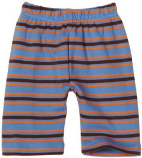 Mini Bamba Apparel Baby Boys Striped Pant, Brown, 9 Months