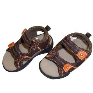 Infant Toddler Boys Brown Sandal   Size 9 12 Months Shoes