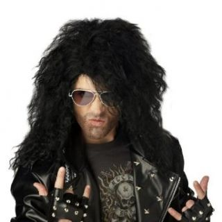 Heavy Metal Rocker Wig Clothing
