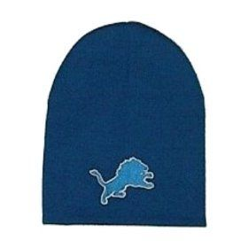 Detroit Lions NFL Blue Knit Beanie Hat