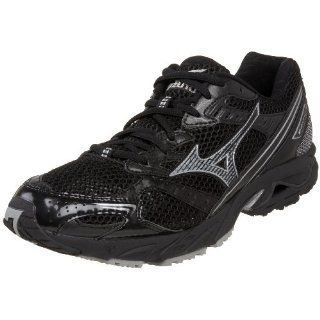 Mizuno Mens Wave Nexus 4 Running Shoe,Black/Silver,15 D Shoes