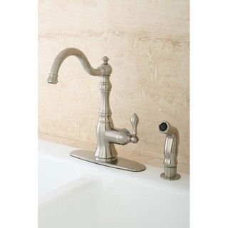 American Classic Satin Nickel Single handle Kitchen Faucet