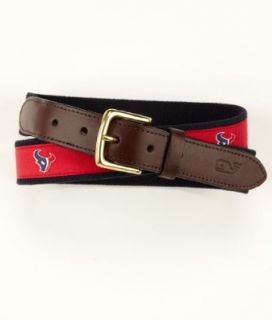 Vineyard Vines NFL Houston Texans Canvas Club Belt, 38