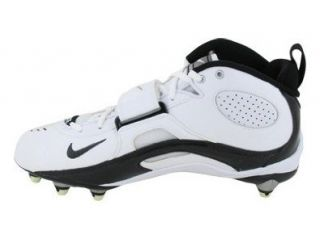 315771 101 Football Cleat White Black (Mens 12, White Black) Shoes