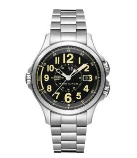 Hamilton Khaki Conservation GMT Special Edition Black Dial Mens Watch