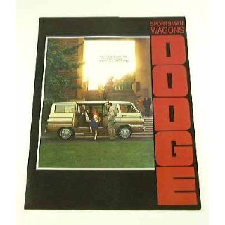 1970 70 Dodge SPORTSMAN WAGON Van BROCHURE 90 108