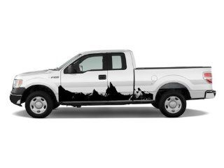Ford F150 Tacoma Car Vinyl Side Graphics Mountains 108