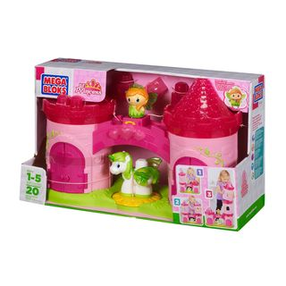 Mega Bloks Lil Princess 3 Story Enchanted Castle Playset