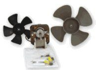 Fan Replacement Electric Motor Kit with Fans 115 volts