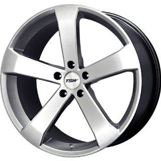TSW Alloy Wheels Vortex Hyper Silver Wheel (19x8/5x114.3mm)