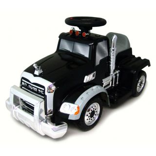 Star 6 Volt Ride On Mack Truck with Trailer Today $138.99