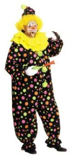 Costumes For All Occasions AA123 Neon Dotted Clown Full