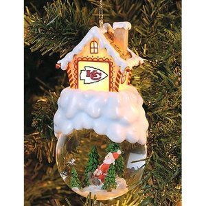 Kansas City Chiefs NFL Home Sweet Home Tree Ornament