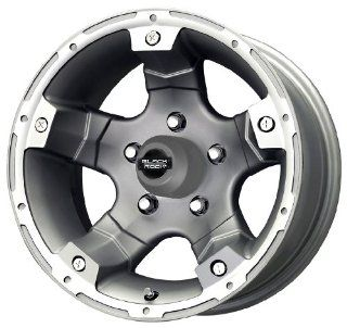 Black Rock Viper 900 Silver Tungsten Wheel (17x8/5x127mm)