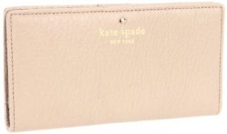 Kate Spade New York Cobble Hill Stacy Wallet,Oyster,One