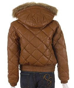 Baby Phat Italian Lamb Leather Jacket