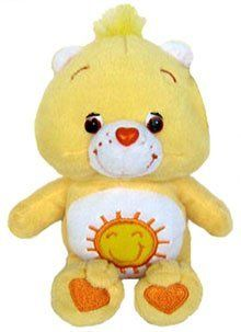 Care Bears Series 2 Funshine Bear 8 Inch Pulsh Bear Toys