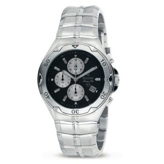 Bulova Mens Marine Star Stainless Steel Watch