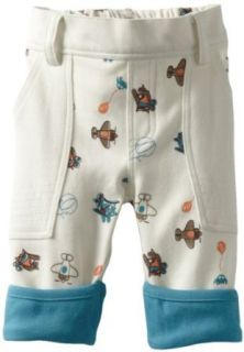 MINI BAMBA APPAREL Baby boys Newborn Plane Print Pant