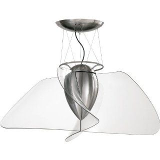 Quorum 26424 155, Angel Brushed Nickel Flush Mount 42 Ceiling Fan