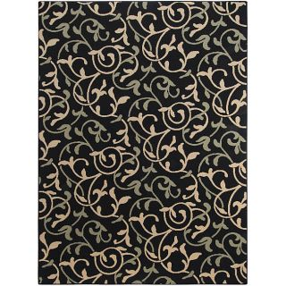 Cafe Floral Indoor/Outdoor Rug (76 x 106)