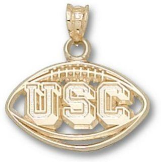 South Carolina Gamecocks Pierced USC Football Pendant