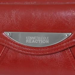 Kenneth Cole Reaction Womens Zippered Clutch Wallet