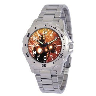 Marvel Comics Mens MA0710 D173 Bracelet Marvel Tony Stark Defender