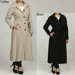 London Fog Womens Long Single breasted Coat FINAL SALE
